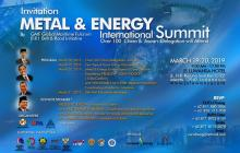 Metal  Energy International Summit19 20 Maret 2019